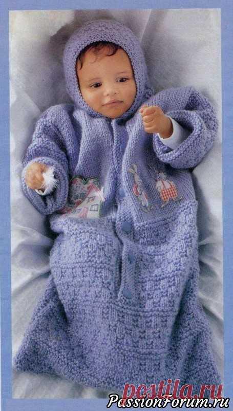 Девочки! Нашла еще потрясающие конвертики для новорожденных! - запись пользователя falconet-n (Надежда) в сообществе Вязание спицами в категории Вязание спицами для детей