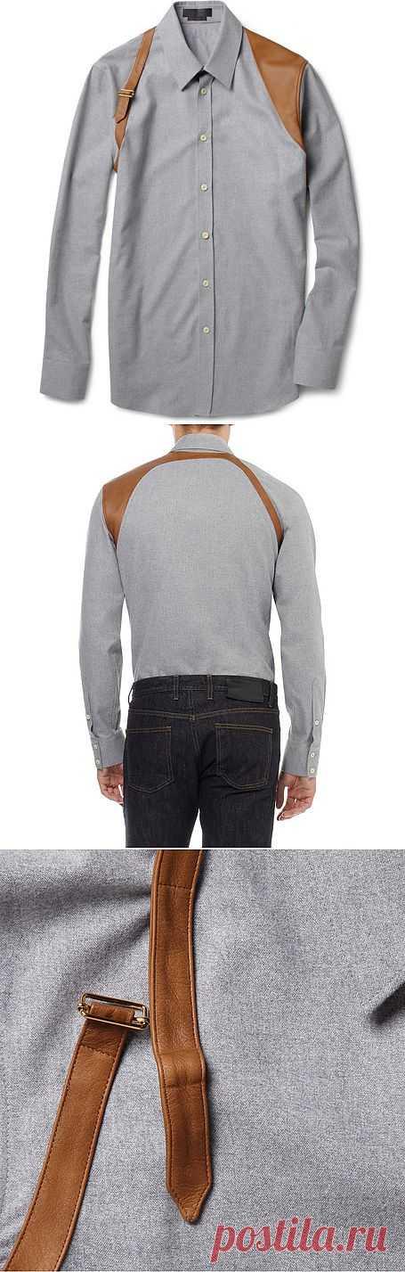 Рубашка от Александра Маккуина / Рубашки / Модный сайт о стильной переделке одежды и интерьера