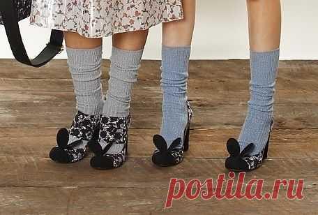 Обувь с ушками / Обувь / Модный сайт о стильной переделке одежды и интерьера
