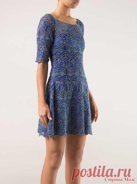 шетландское кружево платье сецилии прадо нужен совет вязание
