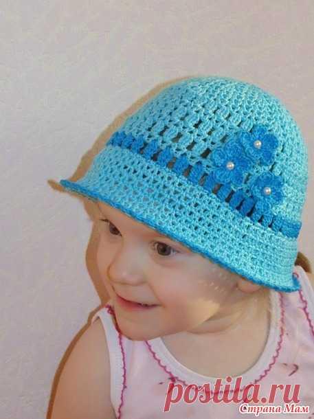 . Шляпка для дочи - В.Г.У. - Вязаные Головные Уборы - Страна Мам