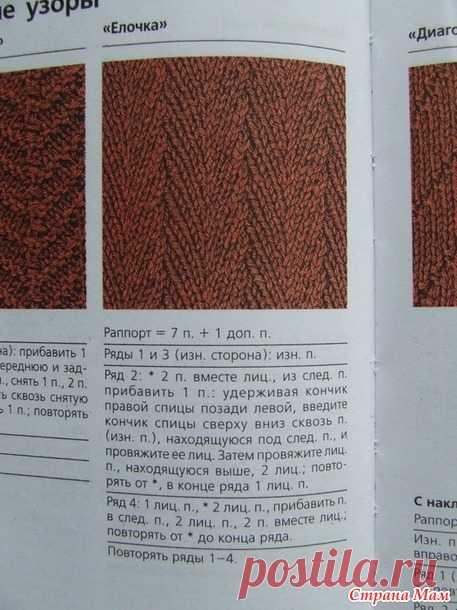Юбка елочкой из твида - Вязание - Страна Мам