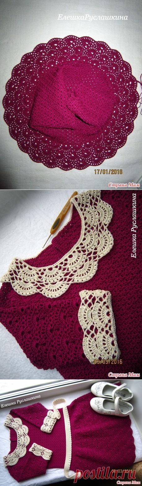 Платье Отличница Винтаж) - Вязание - Страна Мам