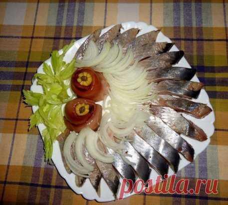 Красивое и легкое оформление рыбной нарезки на праздничный стол