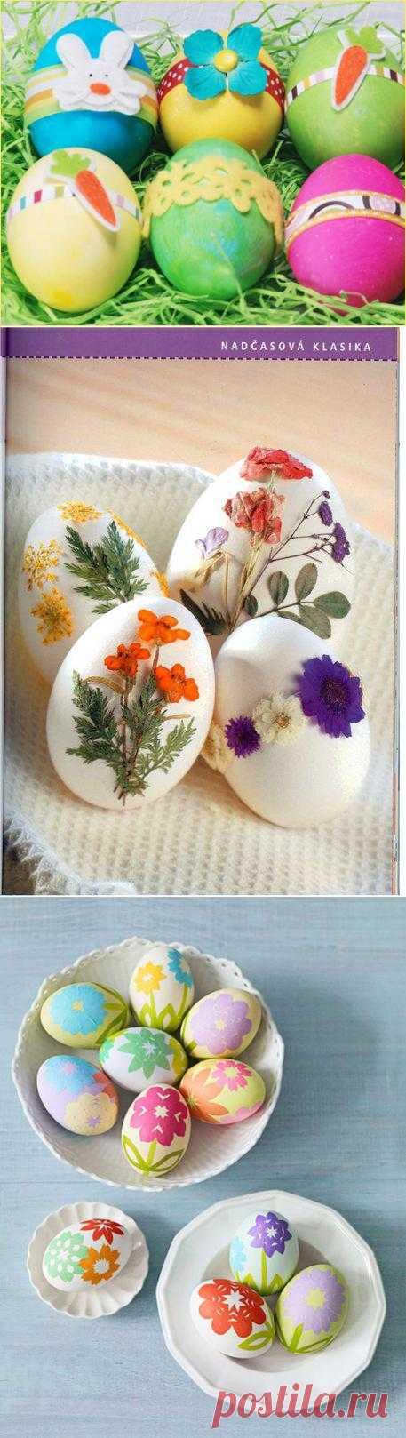 Идеи украшения пасхальных яиц - ребенок будет в восторге от такого творчества. Да и взрослые получат море удовольствия.