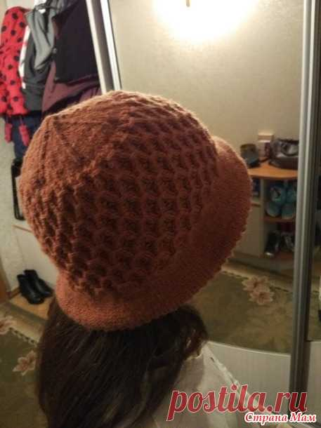 . Женская шляпка (спицы) - Вязание - Страна Мам