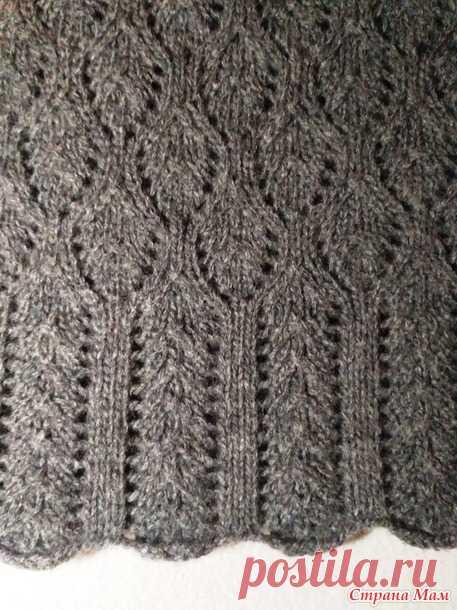 То ли пуловер, то ли туника) - Вязание - Страна Мам
