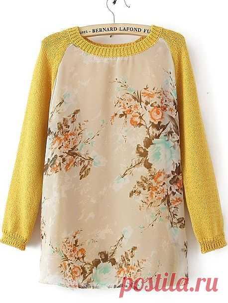 Шифоновый свитер / Свитер / Модный сайт о стильной переделке одежды и интерьера