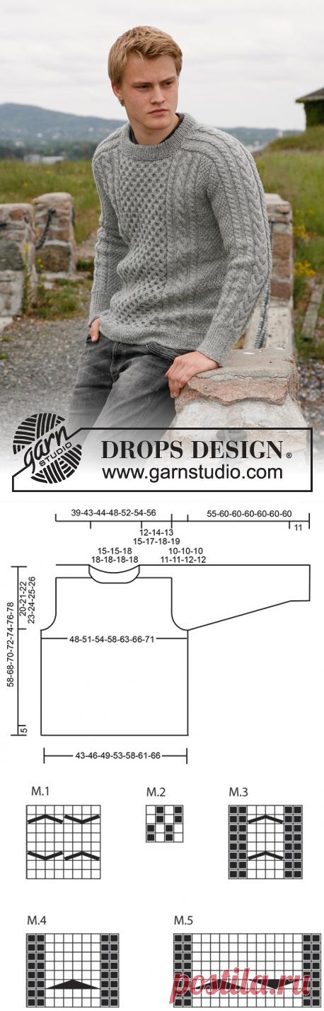 409ac6a926bb05 Dreams of Aran   DROPS 135-3 - Modelli di maglia gratuiti di DROPS Design