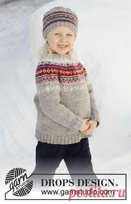 Детские джемпер и повязка Winter Berries - блог экспертов интернет-магазина пряжи 5motkov.ru