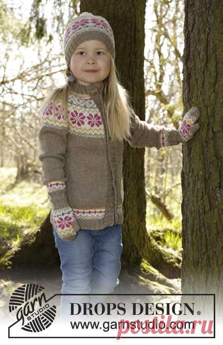 Prairie Fairy / DROPS Children 27-5 - Patrones de punto gratuitos por DROPS Design