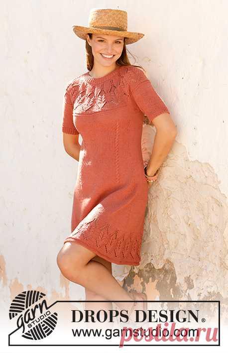 Платье Barn Dance от DROPS Design - блог экспертов интернет-магазина пряжи 5motkov.ru