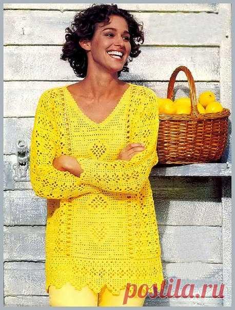 Для тех, кто вяжет крючком   Женская одежда крючком. Схемы и описание  модели и схемы женской одежды     Для вдохновения!