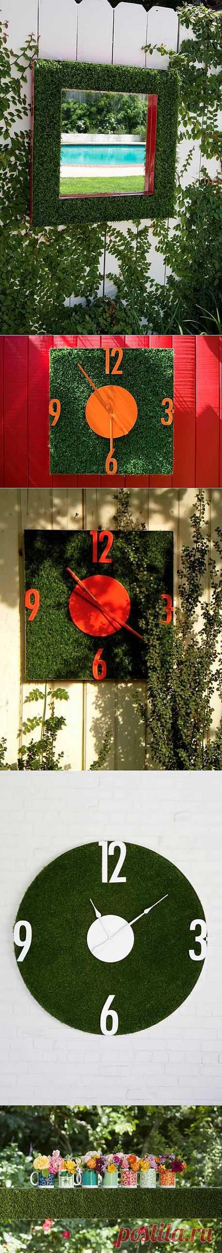 Зеленые идеи для садового дворика./ LiveInternet