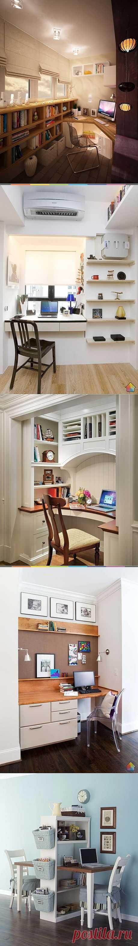 Дизайн интерьера рабочего кабинета.