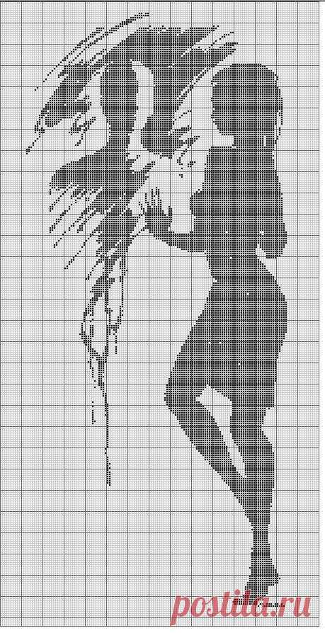 Схемы вышивки крестом черно-белые поиск в google | вышивание.
