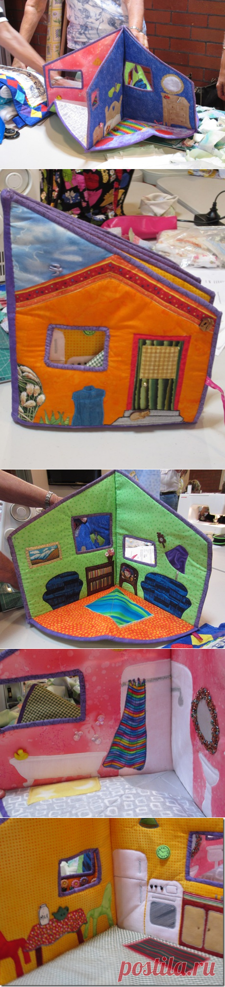 Snippets 'n' Scraps: Gillian's Doll's House