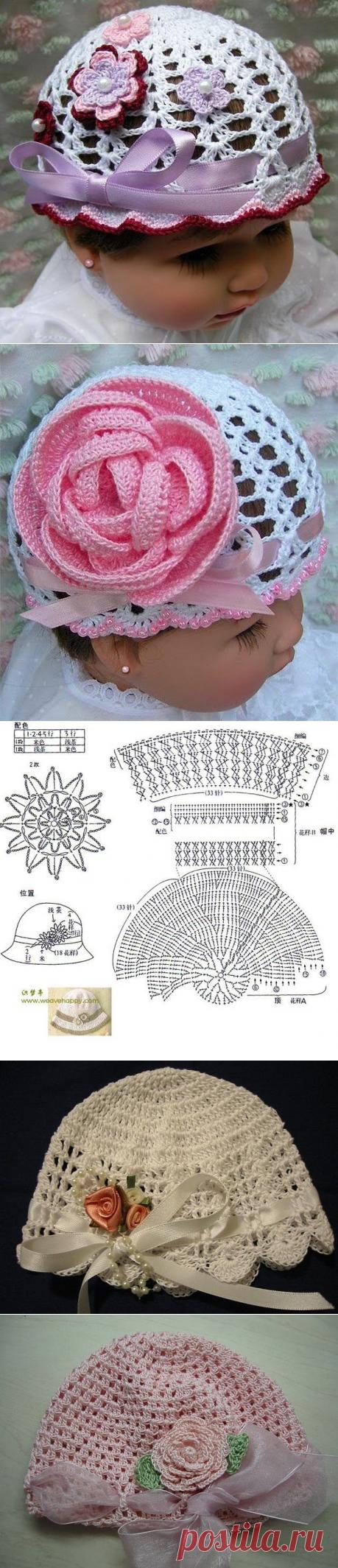 Идеи и схемы шляпок и панамок