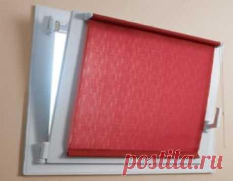 Как установить рулонные шторы на пластиковые окна, пошаговая инструкция