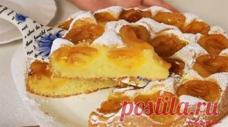 Абрикосовый пирог в духовке - очень вкусный - Лучший сайт кулинарии