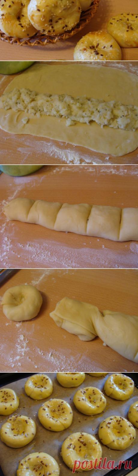 Белорусская булочка Кныш - Вкусный день - пошаговое фото | Вкусный день