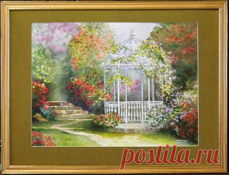 Пейзажи - OLASUN - картины акварелью