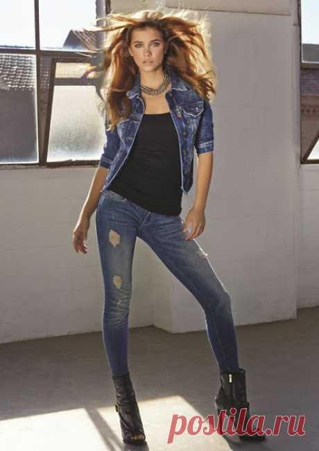 Barbara Palvin for Mavi Jeans Campaign / X-Style