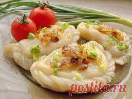 Вкусные вареники с картошкой фото рецепт
