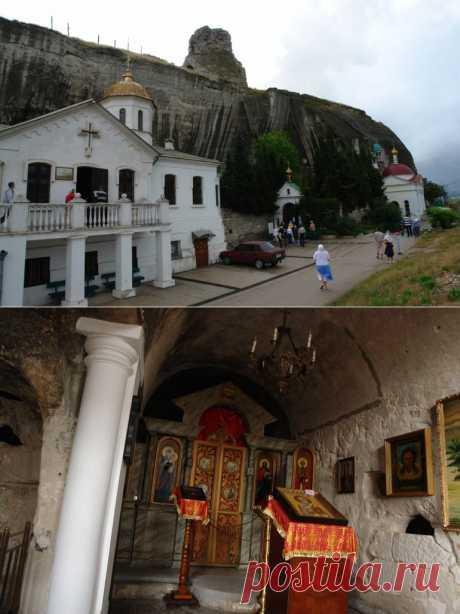 Мой Крым Инкерманский Свято - Климентовский мужской монастырь