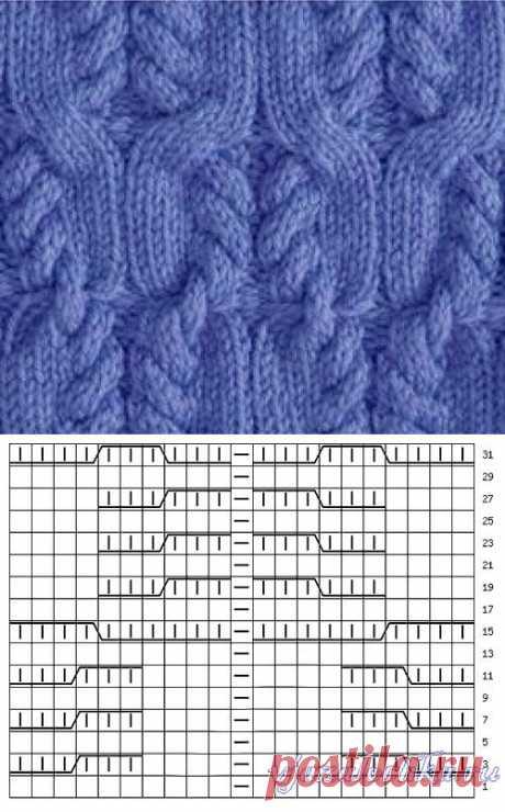 Теплый свитер спицами из мериносовой шерсти