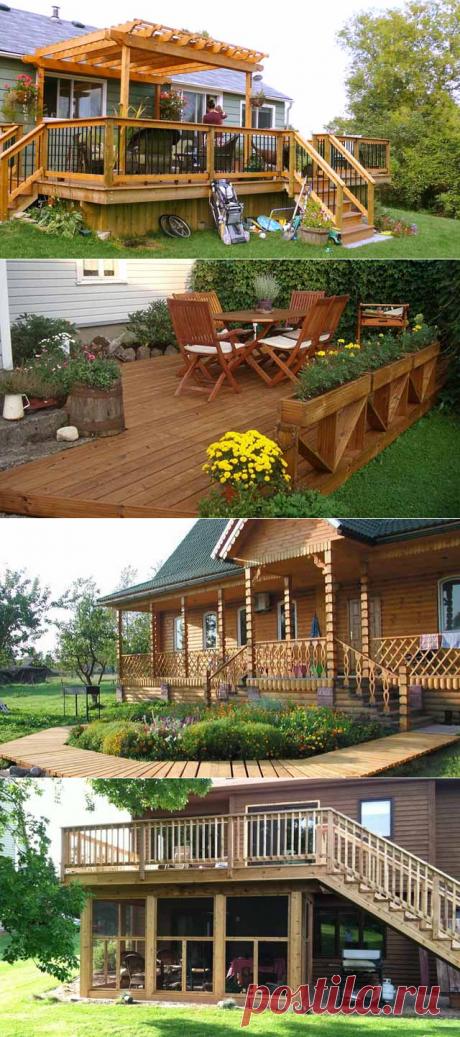 Как выбрать проект террасы: 40 проектов для террасы к дому