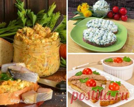ТОП-12 намазок на хлеб, которые быстро утолят голод — Мой милый дом