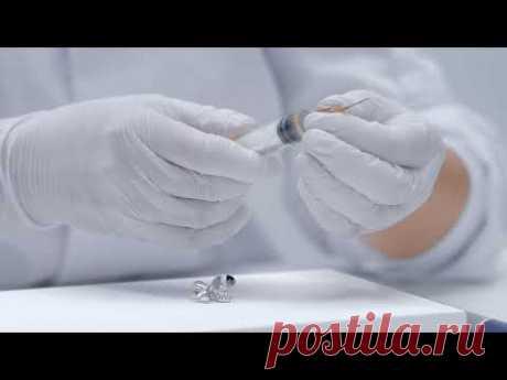 Как приклеить кристаллы, стразы, шатоны Сваровски
