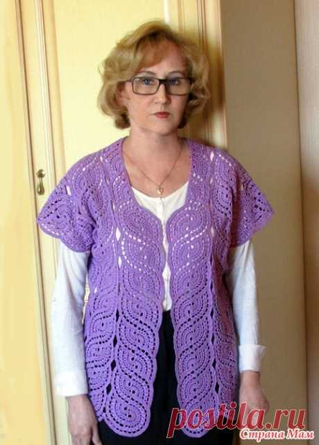 . Жакет, ленточное кружево - Вязание - Страна Мам