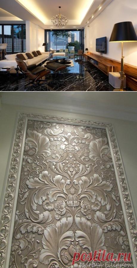 Ремонт и дизайн квартир в Москве. Обои Линкруста. Качественный ремонт от Компании Бабич. Наш сайт www.remontr99.ru