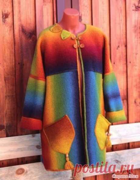 *Курточки-бохо из Кауни Всем доброе утро) Принесла показать новые работы из любимой пряжи) Это курточки-бохо по МК Ирины Дунай Кауни Осень, 8/2, спицы 3,5, ушло 530 гр, размер 50.