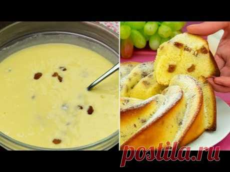 На все случаи жизни! Элементарнейший кекс - и по ингредиентам, и по приготовлению. | Appetitno.TV