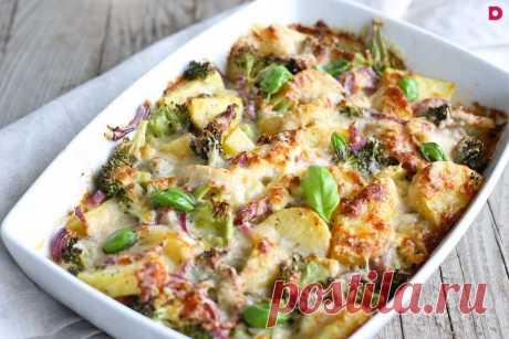 Рецепт постной картофельной запеканки