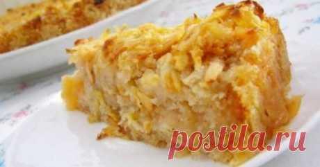 """Диетический пирог без пшеничной муки с яблоками-ешь, хоть каждый день - Женский журнал """"Красота и здоровье"""""""