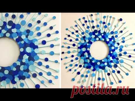 Paper Wall Hanging | Room Decor Ideas at home | Wall Hanging Diy