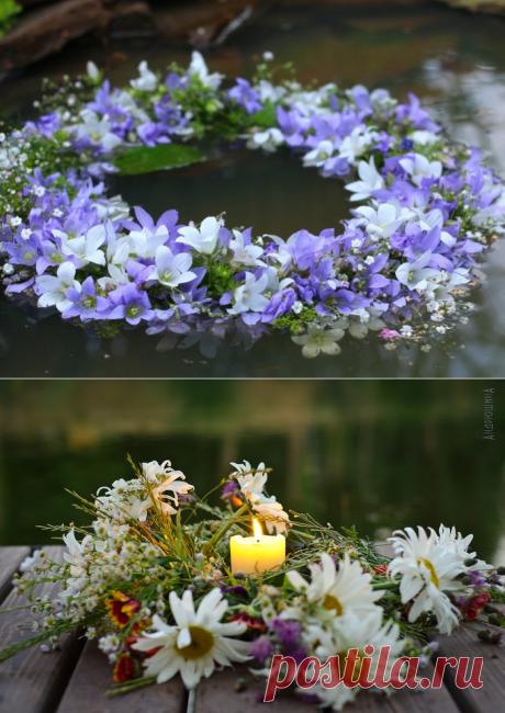 Венки на Ивана Купала