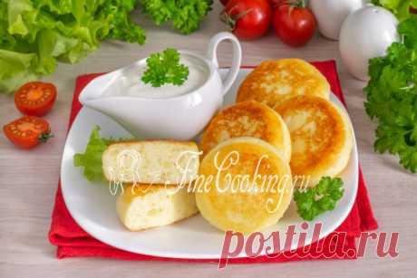 Сырники с картошкой Интересный рецепт сырников из творога и вареной картошки.