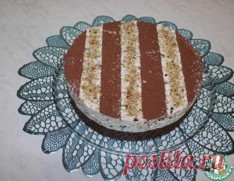 Вкусный и красивый торт без выпечки – кулинарный рецепт