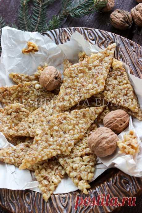 Гозинаки по-грузински: рецепт | Волшебная Eда.ру