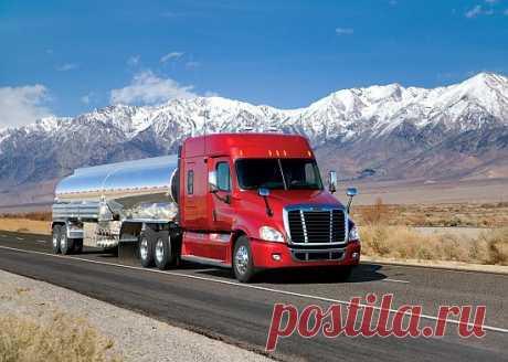 Картинка Truck Freightliner Cascadia / Грузовик Фредлайнер Каскадия » Грузовики » Автомобили » Картинки 24 - скачать картинки бесплатно