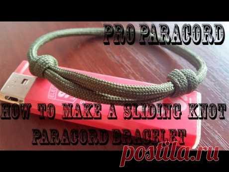 Самые легкие браслеты из паракорда I ProParacordTV