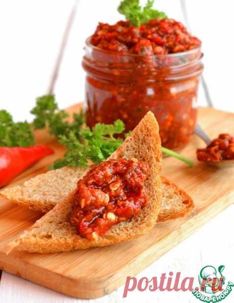 Аджика современной хозяйки – кулинарный рецепт