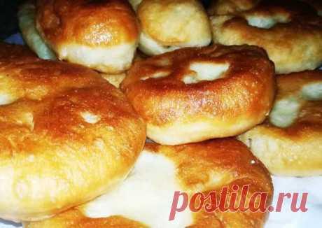Жареные пирожки с картошкой – пошаговый рецепт с фотографиями