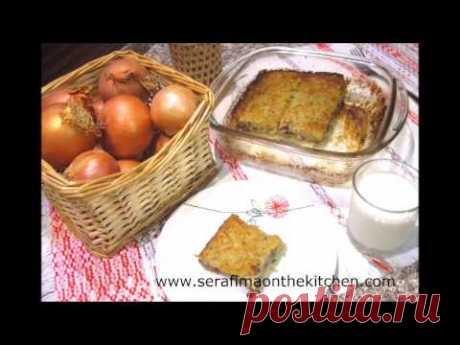 Белорусская КАРТОФЕЛЬНАЯ БАБКА с грибами и луком Постная - YouTube