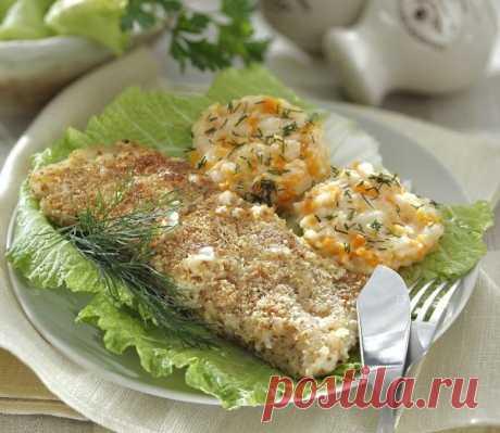 Окунь в миндале – свежий взгляд на жареную рыбу, это очень вкусно!